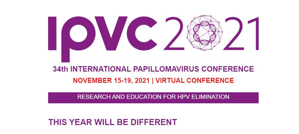 34th International Papillomavirus conference