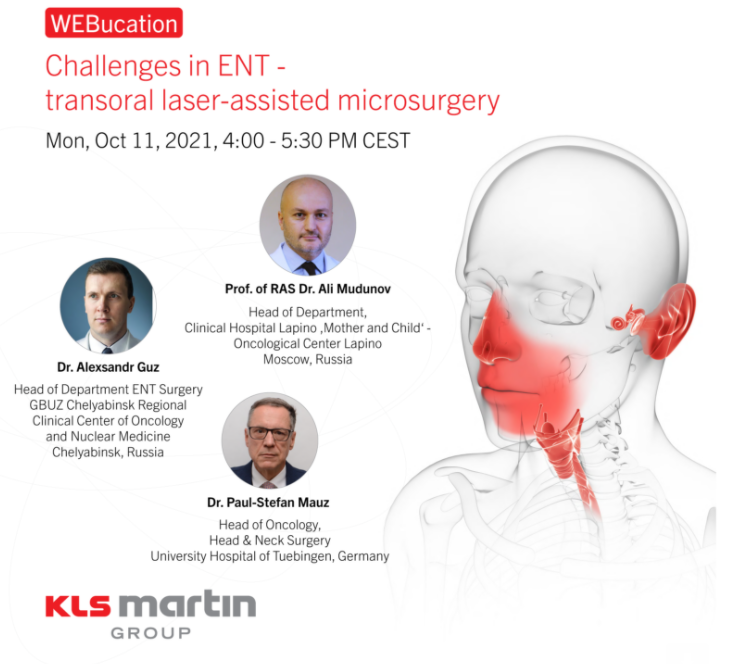 Challenges in ENT — transoral laser-assisted microsurgery