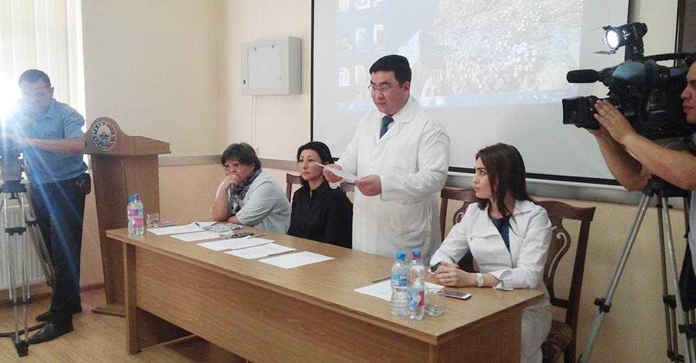 Круглый стол на тему «Актуальные проблемы онкологии»