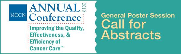 Прием тезисов на NCCN 2019 Annual Conference