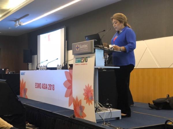 АОУЗ на конгрессе ESMO Asia 2018