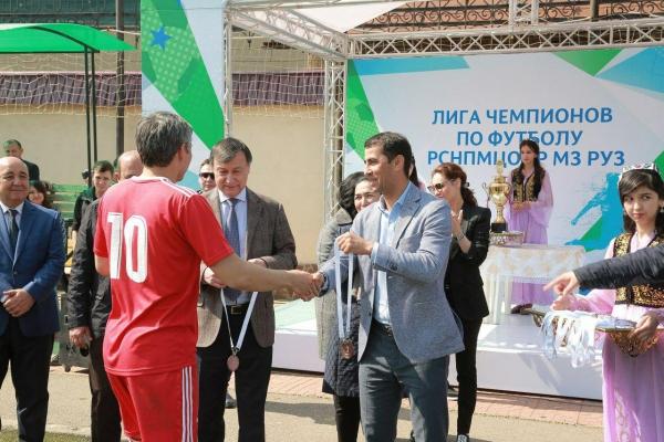 Первый межрегиональный чемпионат по футболу среди филиалов РСНПМЦОиР МЗ РУз