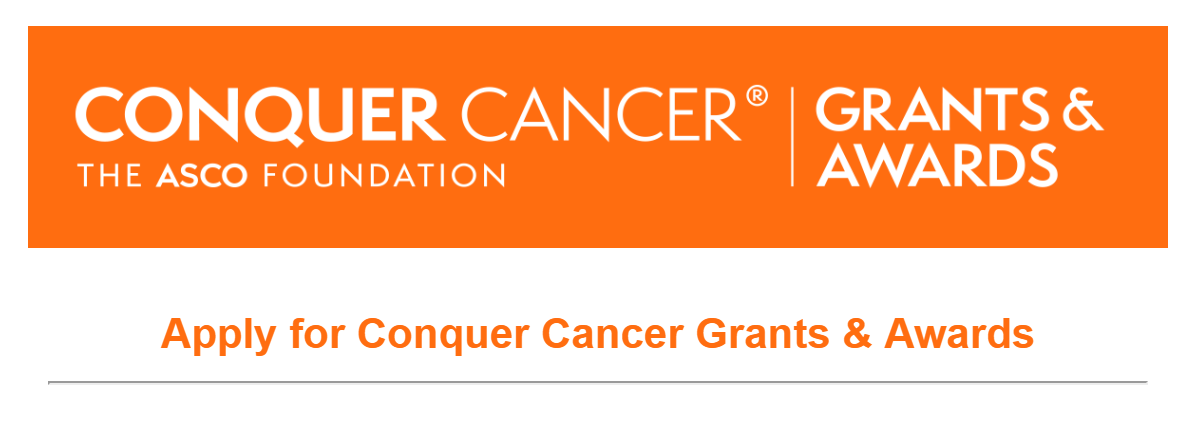 Программа Conquer Cancer Grants & Awards