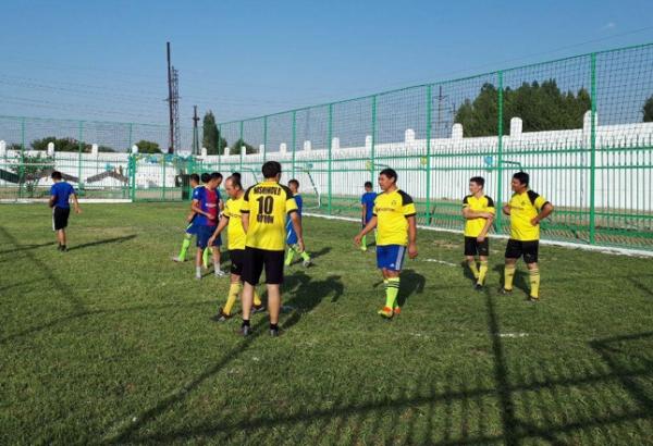 Открытие министадиона в Ферганском областном филиале РСНПМЦ онкологии и радиологии