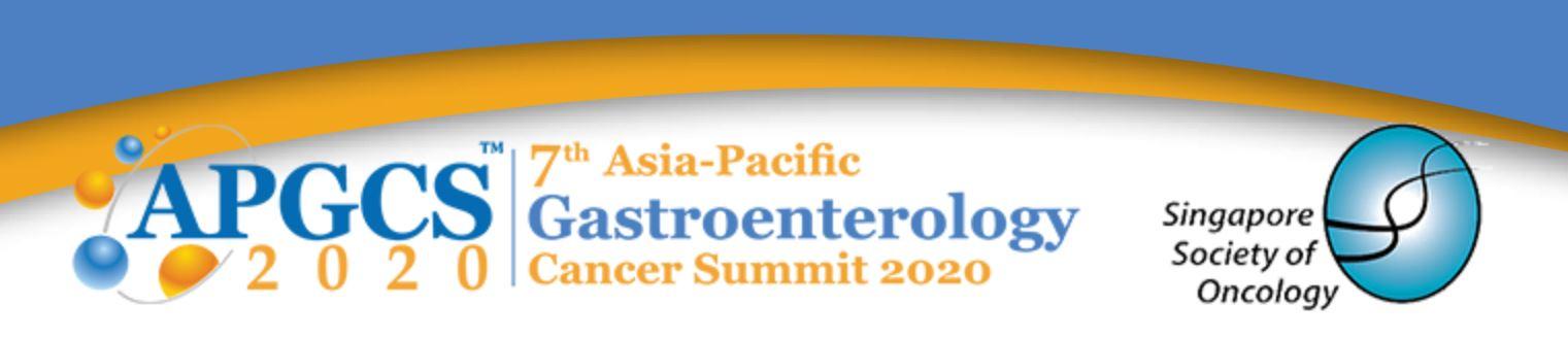 7-й саммит Азиатско-Тихоокеанского региона по гастроэнтерологическому раку APGCS 2020