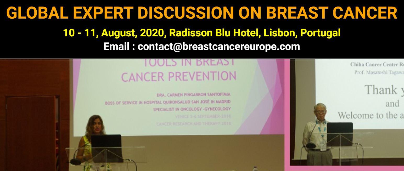 Глобальная экспертная дискуссия по раку молочной железы