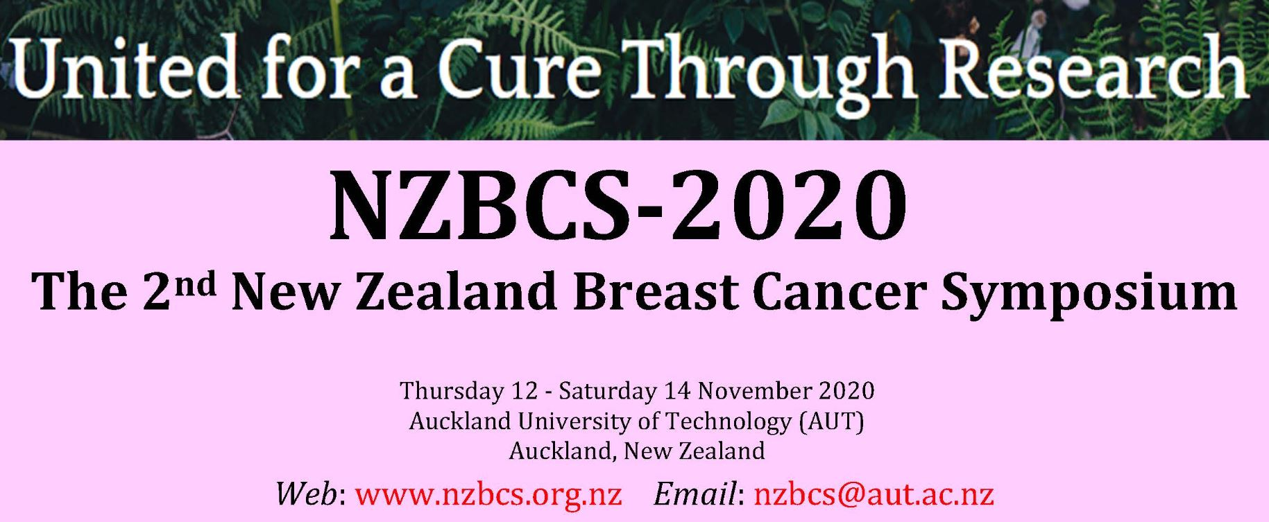 2-й новозеландский симпозиум, посвященный раку молочной железы NZBCS 2020