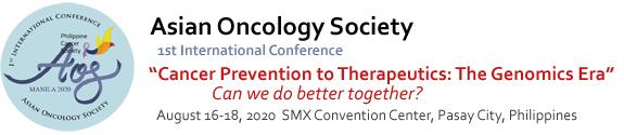 Первая международная конференция Азиатского общества онкологов