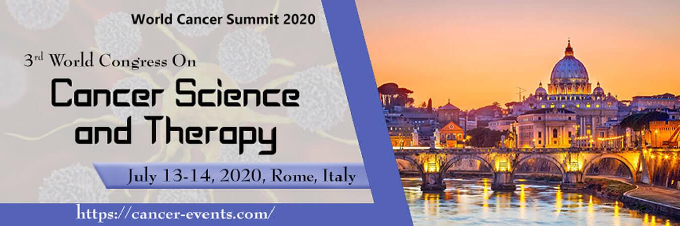 3-й Всемирный конгресс по онкологической науке и терапии