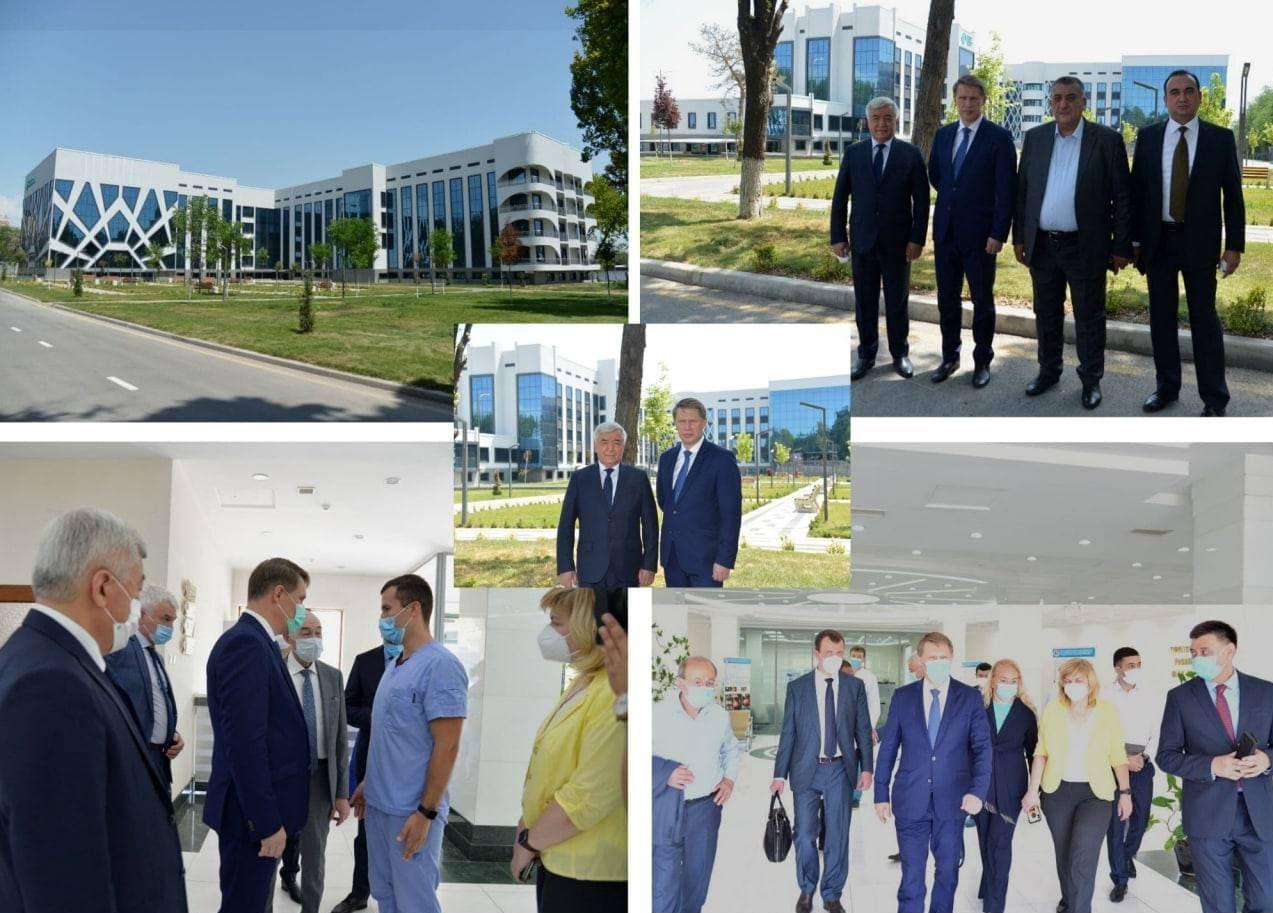 Расширение узбекско-российского сотрудничества в сфере здравоохранения