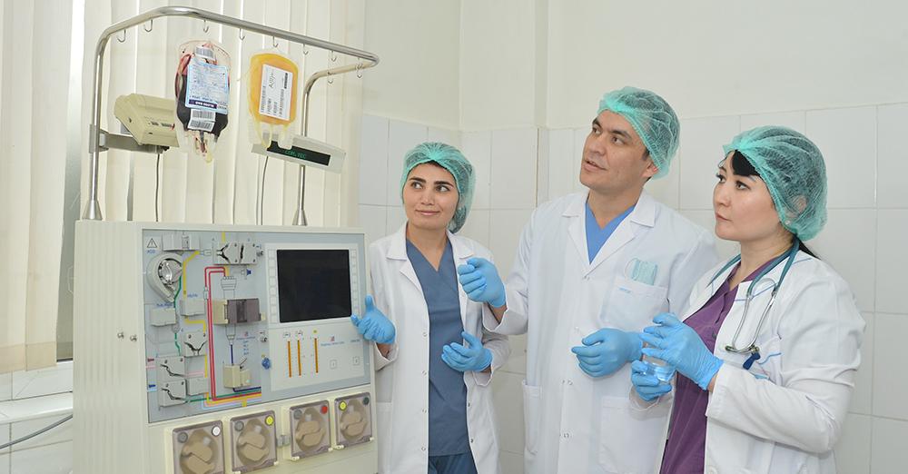 Трансплантация стволовых клеток в Узбекистане